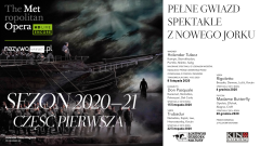 The Metropolitan Opera: Live in HD część 1. 2020-2021